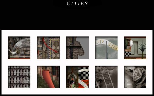 Miguel Chicharro's cities